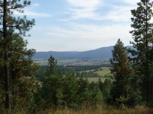 North Idaho 20 Acre Horse Property with Tremendous Valley Views