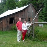 """Christy laments, """"That barn was BRAND NEW then!"""""""