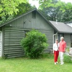 While at the reunion, Randy & Christy re-visited some old memories.  Here they are at Christy's childhood home in Talent, Oregon.