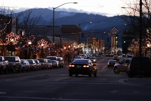 Down town CDA winter lights